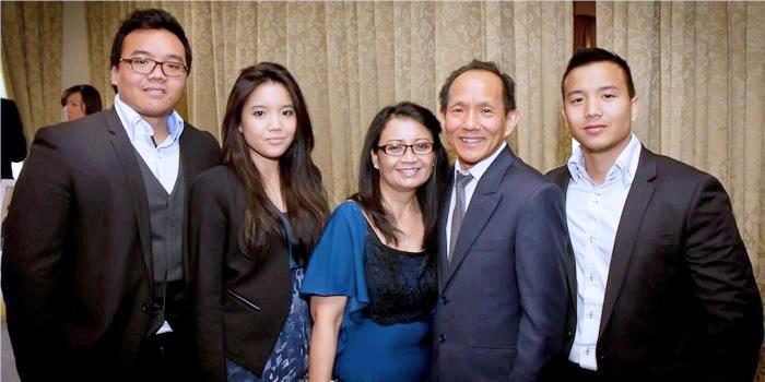 victor liu family