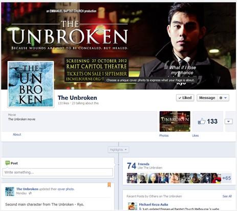 The Unbroken Facebook
